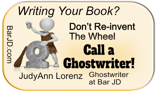 JudyAnn Lorenz, Ghostwriter. Don't reinvent the wheel to write your book.
