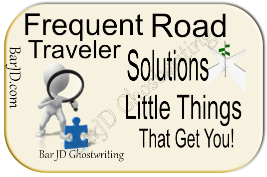 Tips for road travel
